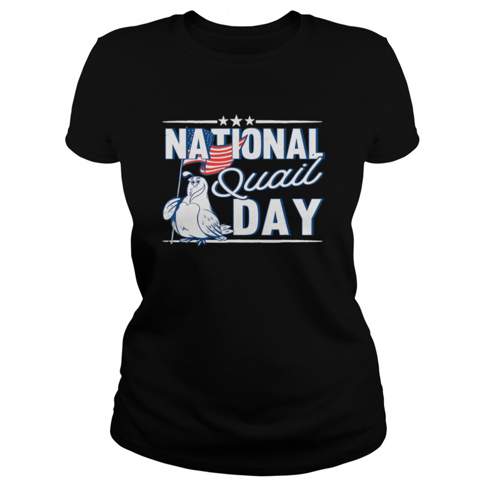 National Quail USA Day 4th Of July  Classic Women's T-shirt