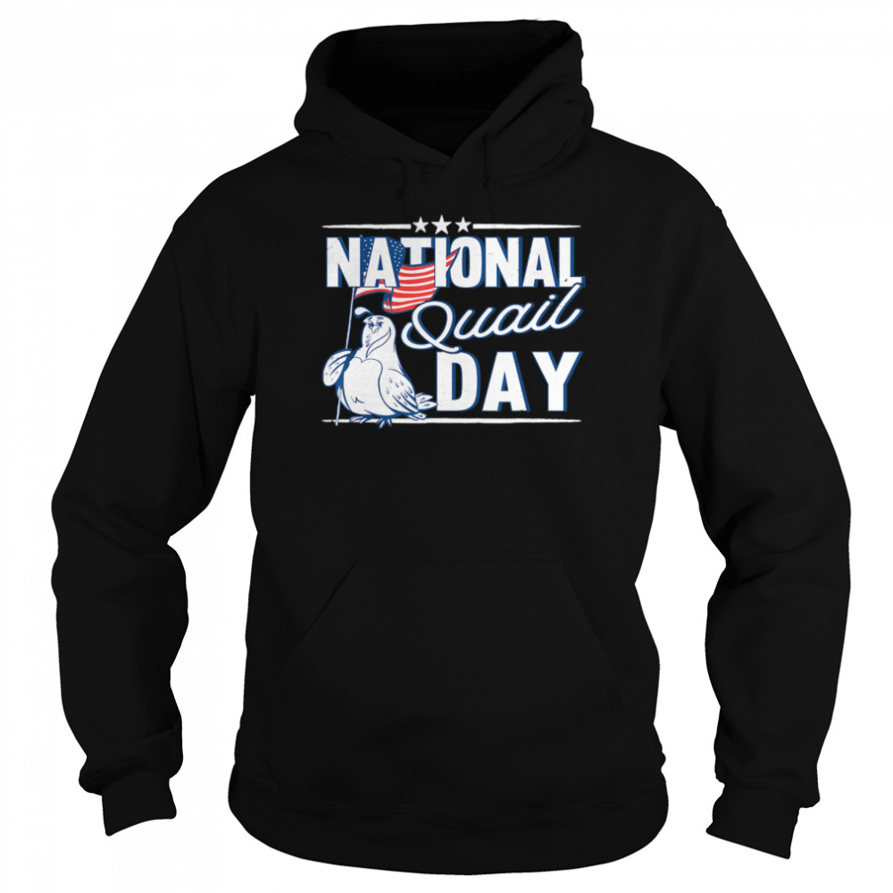 National Quail USA Day 4th Of July  Unisex Hoodie
