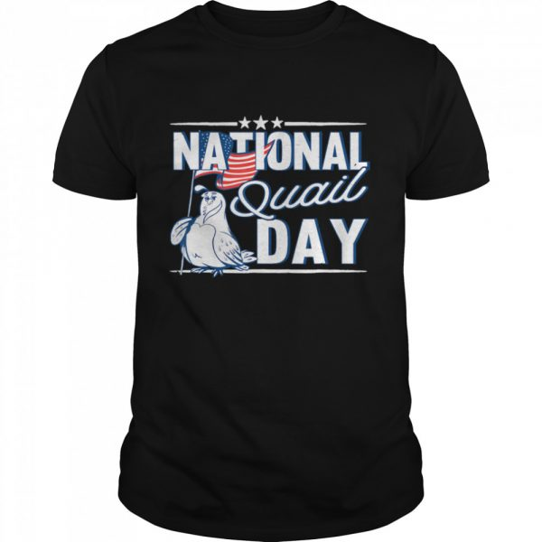 National Quail USA Day 4th Of July shirt