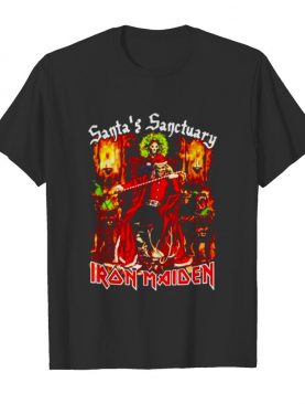Santas Sanctuary Iron Maiden shirt