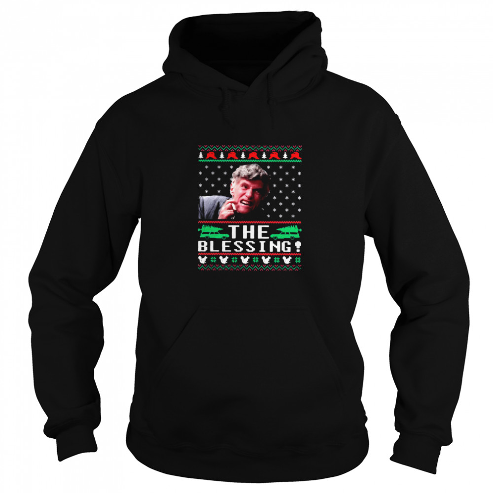 Uncle Lewis the blessing ugly Christmas  Unisex Hoodie