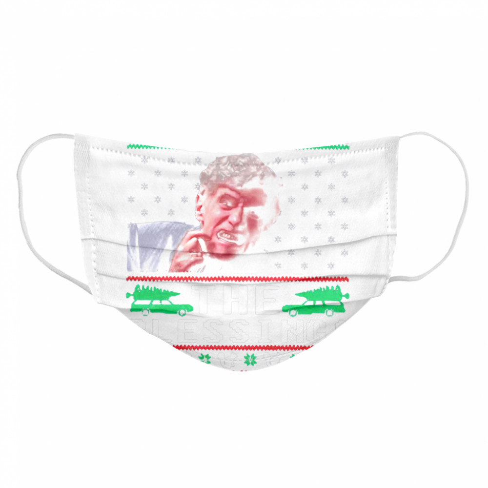 Uncle Lewis the blessing ugly Christmas  Cloth Face Mask