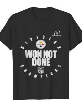 pittsburgh steelers champions 2020 won not done shirt
