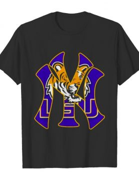 New York Yankees LSU Tigers shirt